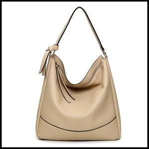 NEW ELVA Hobo Shoulder Bag